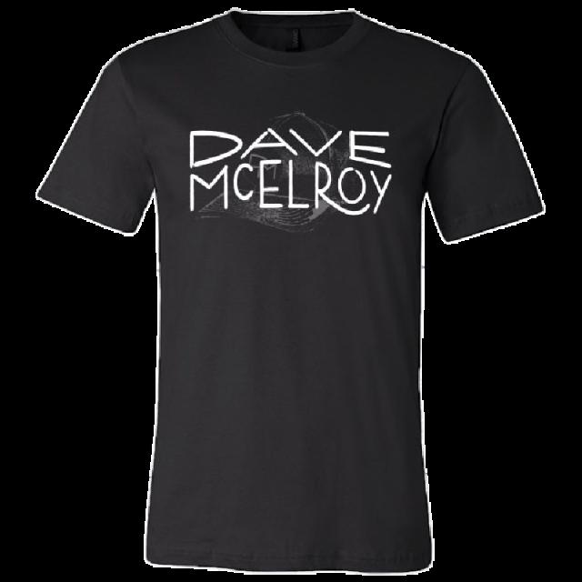 Dave McElroy Unisex Black Live Life Tee