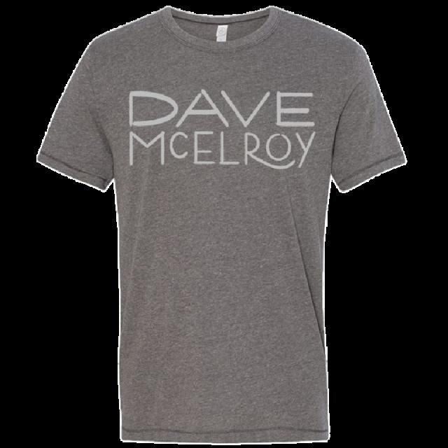 Dave McElroy Unisex Vintage Coal Tee
